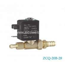 ODM for Welding Machines Tube Solenoid Valve Brass Tube With Lock Welding Valve export to Reunion Manufacturer