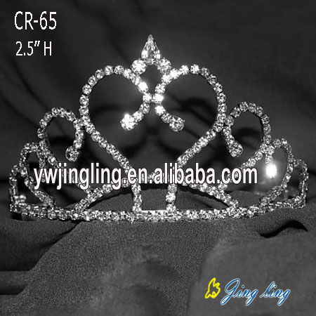 Crystal Tiaras Small Crowns