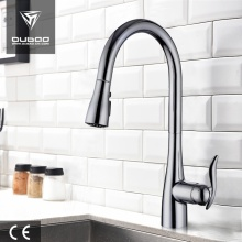 Modern Single Handle Pull Down Spray Faucet Taps