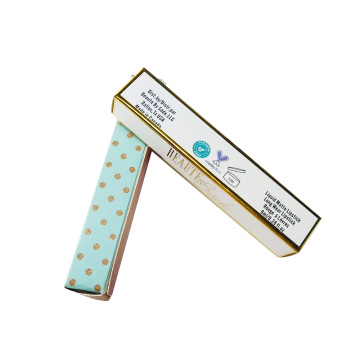 Wholesale Fashion Glossy Lamination Lipstick Packaging Box