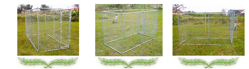 pet kennel fencing
