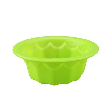 Silicone Baking Molds Aokinle Fluted Round Cake Pan