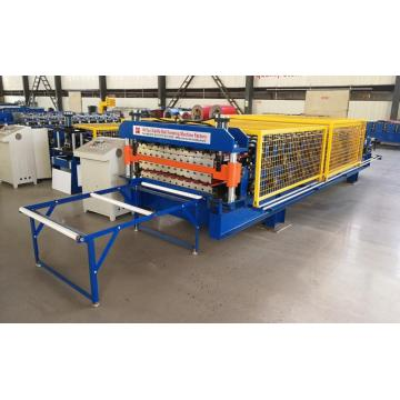 Roof and Wall Tile Double Deck Forming Machine