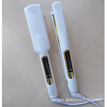 Fashionable Design Wide Thin Titanium Electric Flat Iron