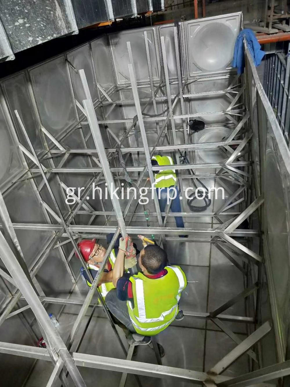 Stainless Steel Tank For Hotel