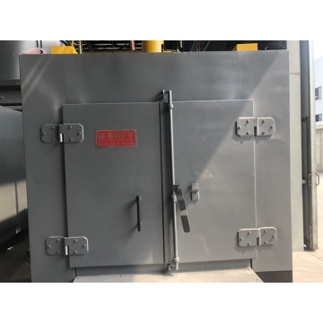 All-fiber chamber quenching furnace