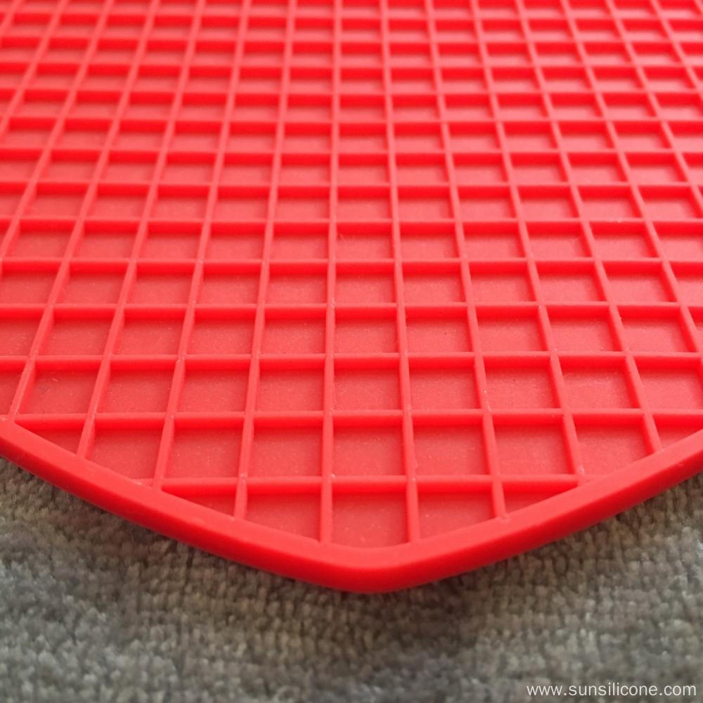 Creative insulated folding silicone dining mat