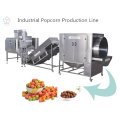 Automatic industrial popcorn machine