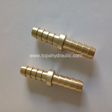 Hydraulic hose barb gates metric weatherhead brass fittings