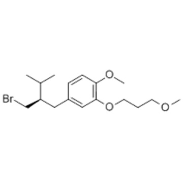 Benzol, 4 - [(2R) -2- (Brommethyl) -3-methylbutyl] -1-methoxy-2- (3-methoxypropoxy) CAS 172900-69-5