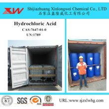 Fast Delivery for Mining Flotation Chemicals Industrial Grade Hydrochloric Acid 31% HCL export to United States Importers