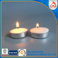 Mini Unscented Tealight Candles with Aluminium Tins