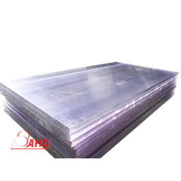 Factory directly supply for Pc Plate Wholesale Clear Black PC Plastic Solid Sheeting Sheet export to North Korea Exporter