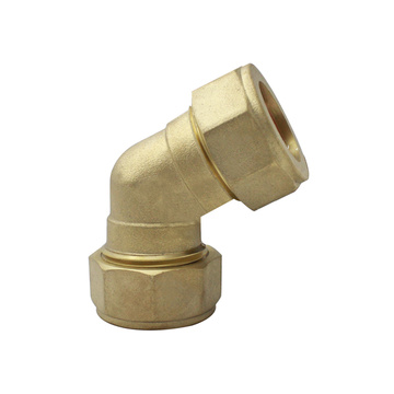 45° Compression Brass Elbow Fittings