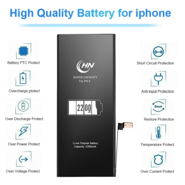 Taas nga kapasidad 2200mAh apple iphone 6s battery