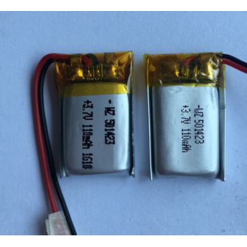 110mAh Lipo Battery For Wireless Headphones (LP1X2T5)