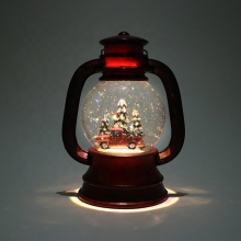 Water snow lantern wind light