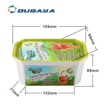 cat food plastic box