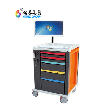 Clinic medication mobile care cart