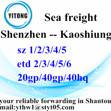 Shenzhen to Kaoshiung International Logistic Agent
