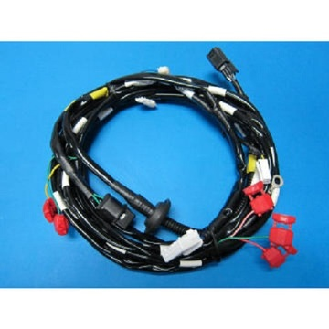Spotlight wiring harness on Truck
