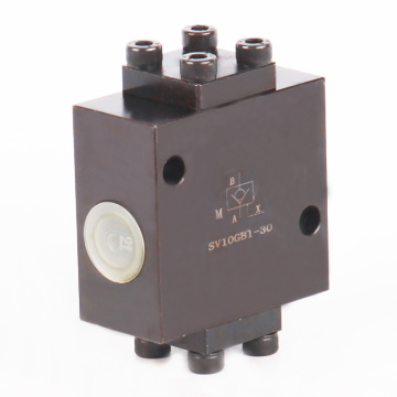 SV SL poppet hydraulic pilot operated check valves