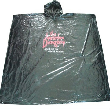 Promotional LDPE Disposable Rain ponchos