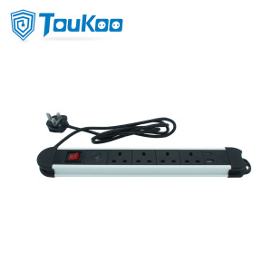 Factory For for Usb Ports Extension Cord British 4 outlet power strip with USB port supply to Japan Factories