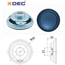 Wholesale Price for Small Full Range Speakers 66mm 4ohm 5w neodymium full range speaker supply to South Korea Suppliers