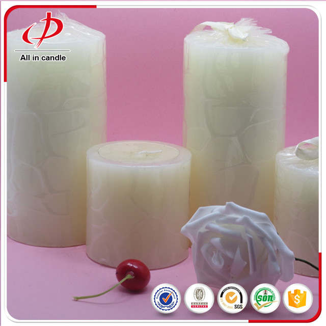 Color Big Votive Pillar Candle white pillar candles