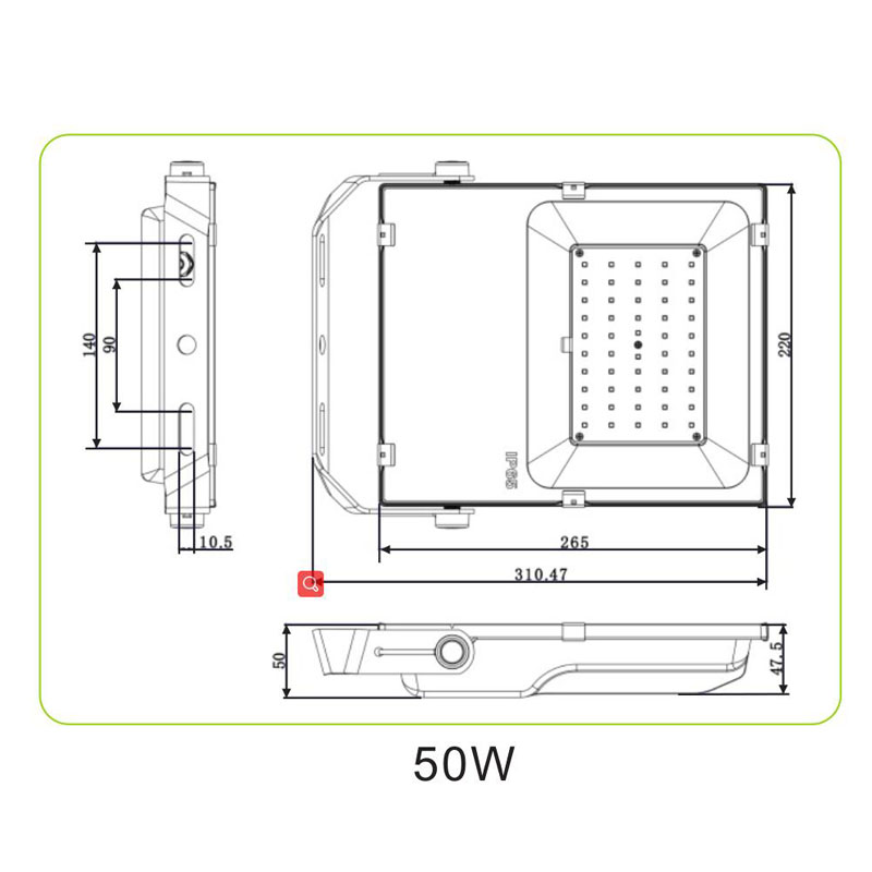 Led 50w Flood Light