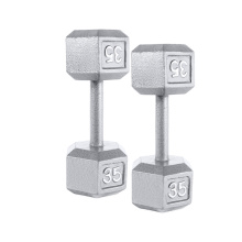 Best quality and factory for Workout Cast Iron Dumbbell 35LB Cast Iron Hex Dumbbell export to Greenland Supplier