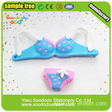 Promotional Beautiful Girl Cloth Dressing Erasers