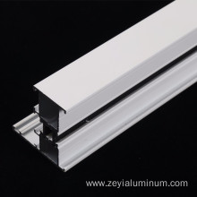 White Powder Coated Thermal Break Extruded Aluminium Profile