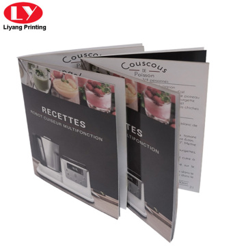 Custom saddle stitching brochure printing