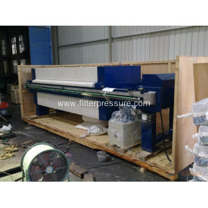 PLC Hydraulic Cast Iron Sludge Dewatering Filter Press