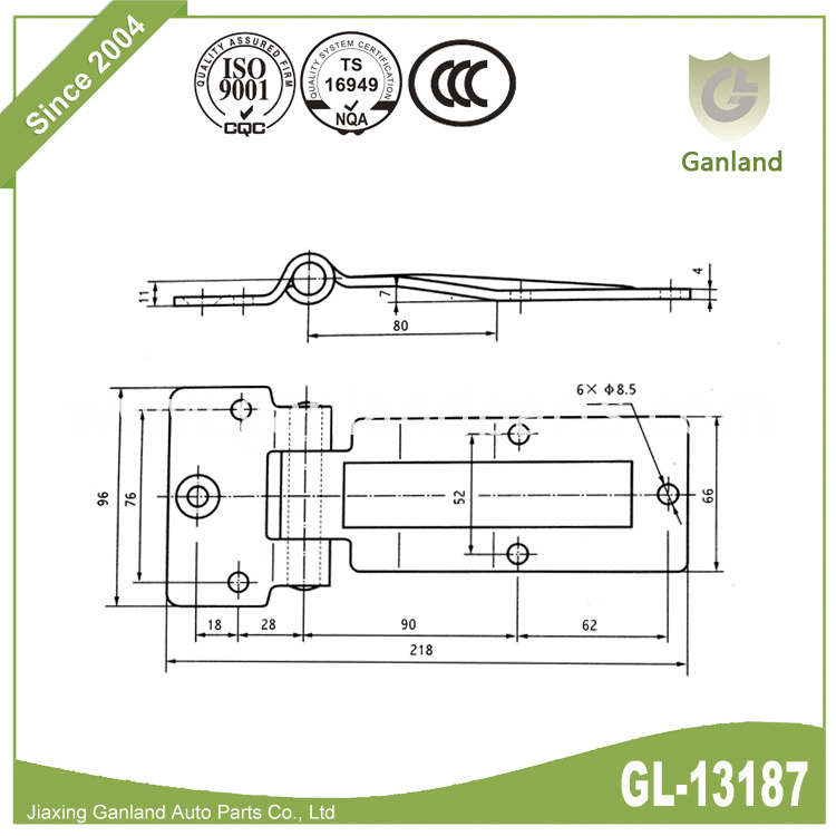 various application hinge GL-13187S