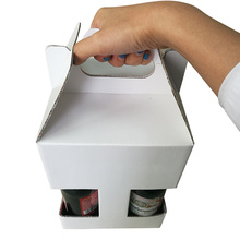 Low Price 4 Pack Bottles Beer Paper Box