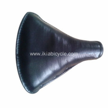 City Bike Saddle Black Bicycle Seat