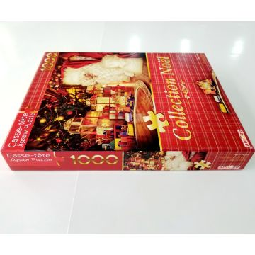 Custom hot 1500pcs paper adult jigsaw puzzle game