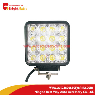48W Square Flood LED Light Bar