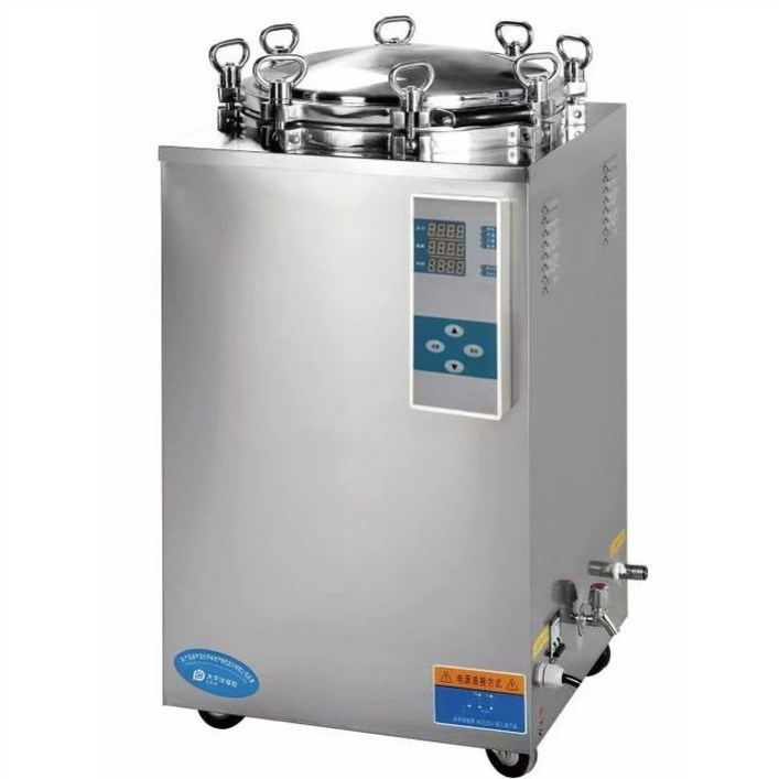 Cost-effective vertical steam sterilizer 100l