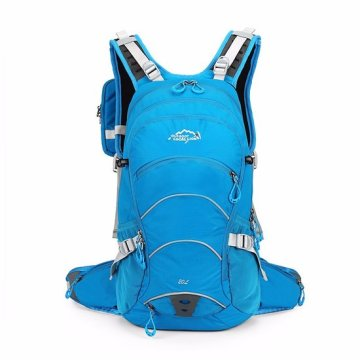 Fashionable pu travel bag outdoor backpack for students