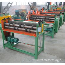 ZT steel coil cutting steel strips Simple Slitting Machine