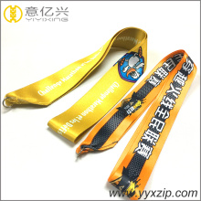 High qulity online game sublimation complete lanyards