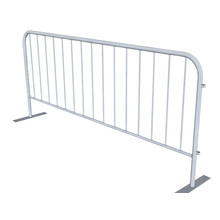 Safety Removable Crowd Control Barricades / Road barrier