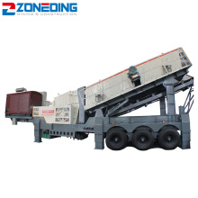 Good Mobility Mobile Impact Crushing Plant