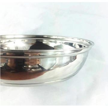High Quality Stainless Steel Pan with Long Handle