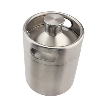 Home Stainless steel beer Growler Fermenter Barrel