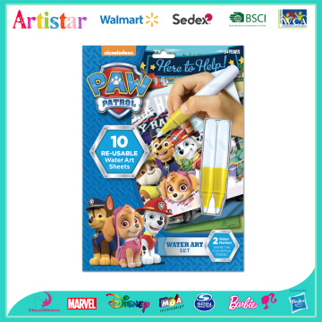 Paw Patrol water art blister card set